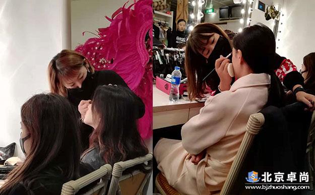 2018世界超模大赛幕后化妆实践花絮